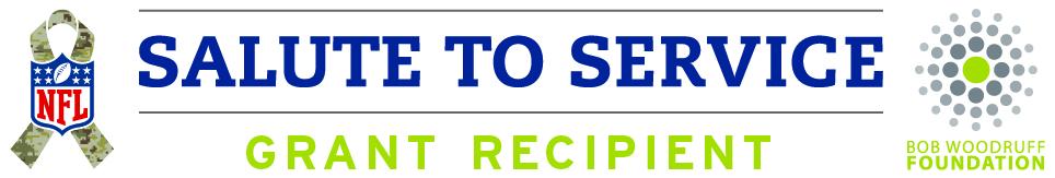 BWF-NFL Salute to Service Grant Recipient Logo